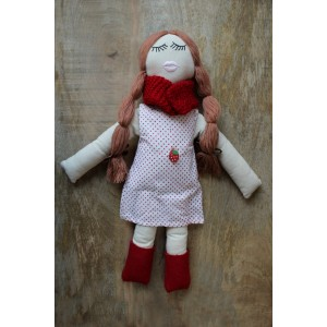 Winter girl doll
