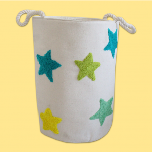 Star embroidery Storage Bag