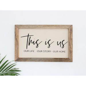 This Is Us Wall Frame