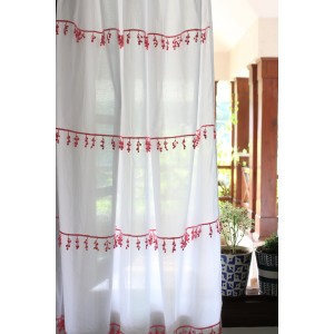 Orchid Lace Curtain