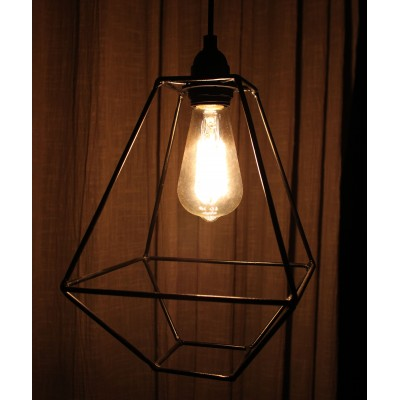Tetramond Wire Lamp
