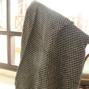 Diamond Weaved Throw