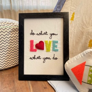 Do what you love Wall frame