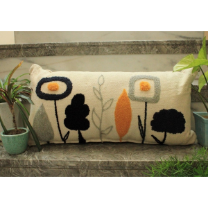 Abstract Garden Cushion