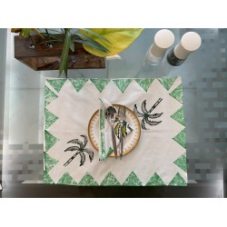 Palm Tree Table Mat(Set of 6)