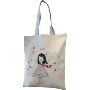 Winter Girl Tote