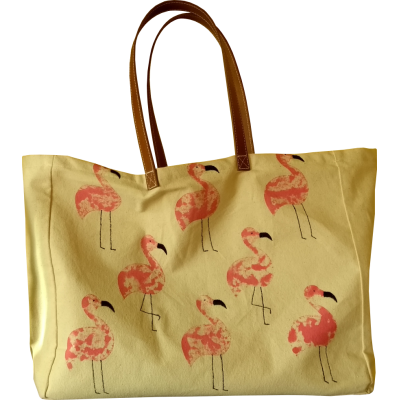 Flamingo playa bag