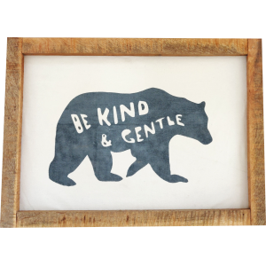 Be Kind and Gentle Wall Art