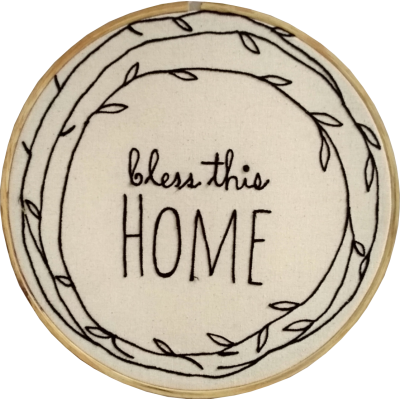 Bless This Home Hoop