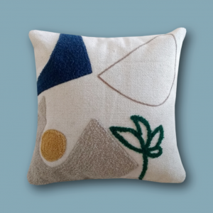 Abstract Land Cushion