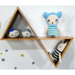 Double Triangle Shelf