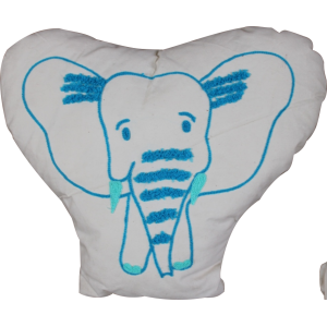 Big Ear Elephant Shaped Cushion