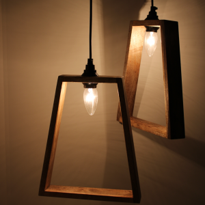 Triangle Hanging Lamp